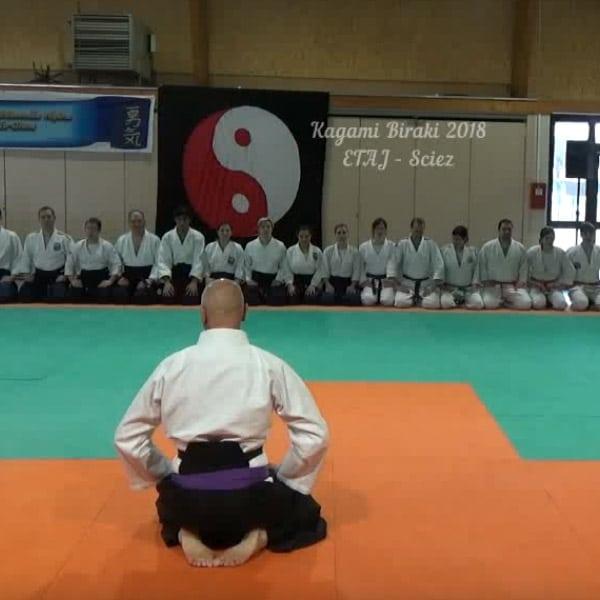 Kagami-biraki 2018 de l'ETAJ à Sciez